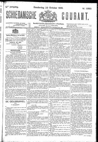 Schiedamsche Courant 1898-10-20