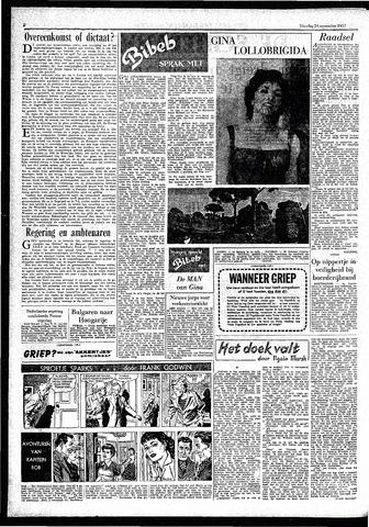 Rotterdamsch Parool / De Schiedammer 1957-09-24