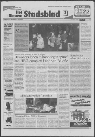 Het Nieuwe Stadsblad 2000-11-09