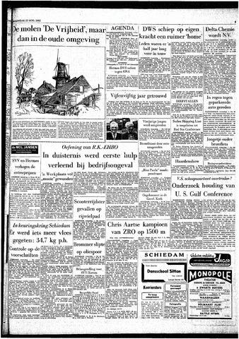 Rotterdamsch Parool / De Schiedammer 1962-08-22