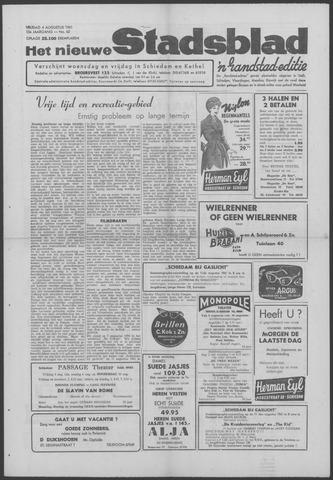 Het Nieuwe Stadsblad 1961-08-04