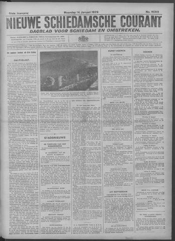 Nieuwe Schiedamsche Courant 1929-01-14