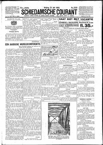 Schiedamsche Courant 1933-07-21
