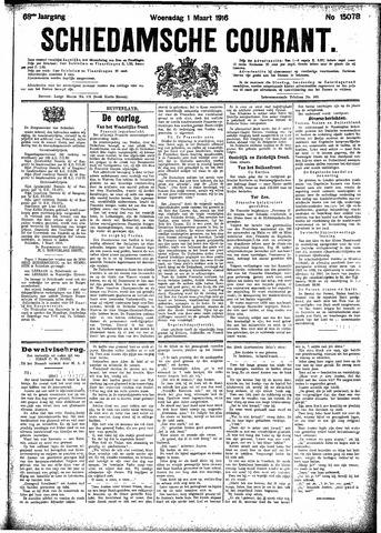 Schiedamsche Courant 1916-03-01