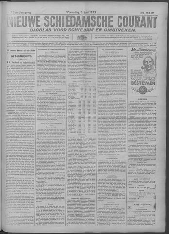 Nieuwe Schiedamsche Courant 1929-06-05