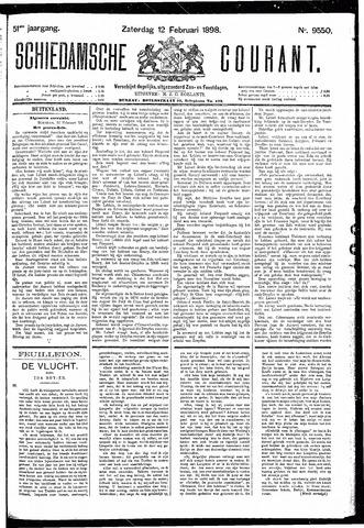 Schiedamsche Courant 1898-02-12