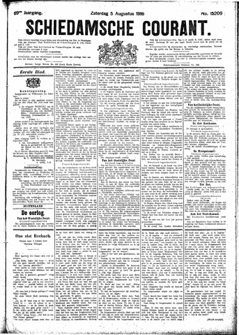 Schiedamsche Courant 1916-08-05