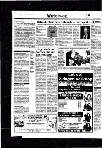 Rotterdamsch Nieuwsblad / Schiedamsche Courant / Rotterdams Dagblad / Waterweg / Algemeen Dagblad 1993-12-17