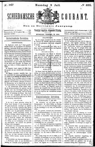 Schiedamsche Courant 1877-07-09
