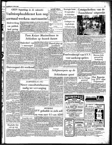 Rotterdamsch Parool / De Schiedammer 1962-07-11