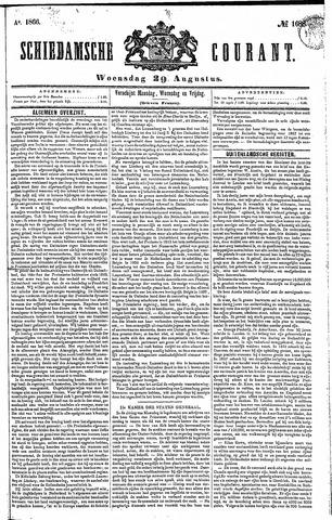 Schiedamsche Courant 1866-08-29
