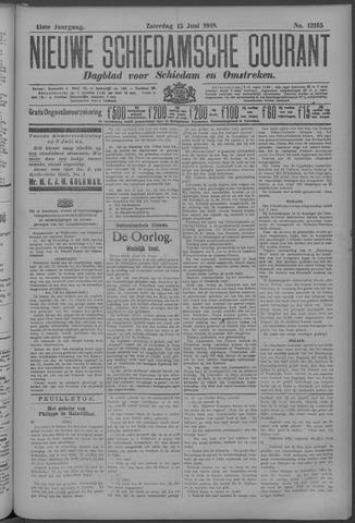 Nieuwe Schiedamsche Courant 1918-06-15