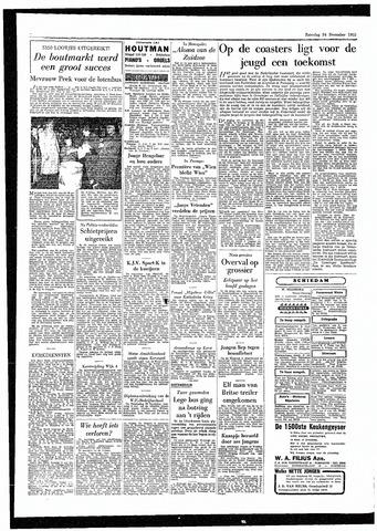 Rotterdamsch Parool / De Schiedammer 1955-12-24