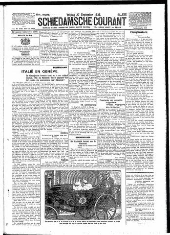 Schiedamsche Courant 1935-09-27
