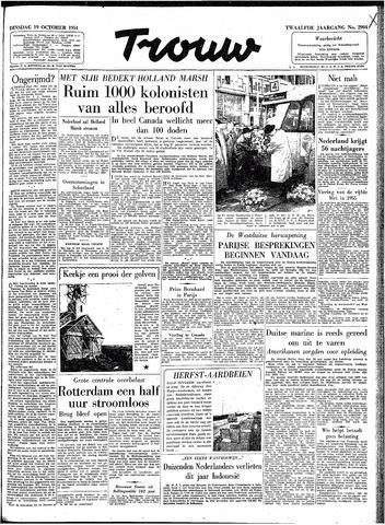 Trouw / De Rotterdammer 1954-10-19