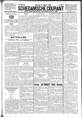 Schiedamsche Courant 1927-10-11