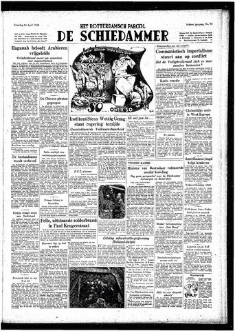 Rotterdamsch Parool / De Schiedammer 1948-04-24