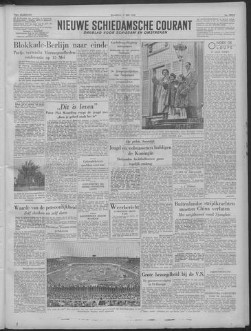 Nieuwe Schiedamsche Courant 1949-05-02