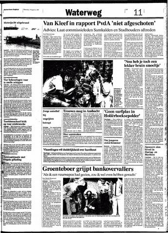 Rotterdamsch Nieuwsblad / Schiedamsche Courant / Rotterdams Dagblad / Waterweg / Algemeen Dagblad 1991-08-14