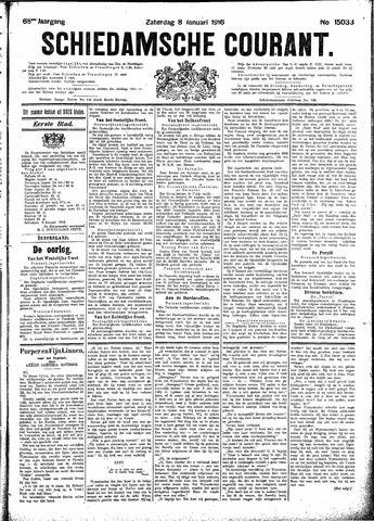 Schiedamsche Courant 1916-01-08
