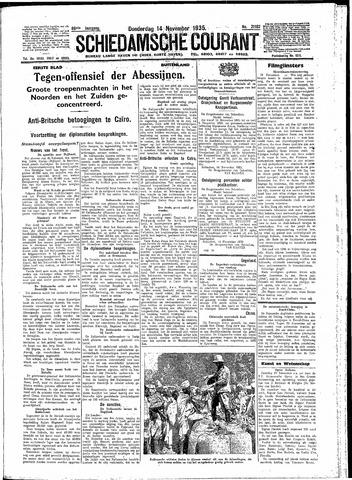 Schiedamsche Courant 1935-11-14
