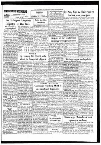 Rotterdamsch Nieuwsblad / Schiedamsche Courant / Rotterdams Dagblad / Waterweg / Algemeen Dagblad 1965-02-23
