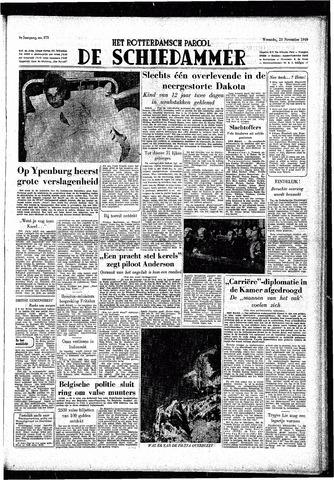 Rotterdamsch Parool / De Schiedammer 1949-11-23