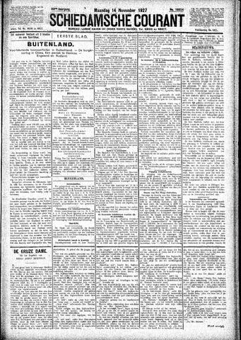 Schiedamsche Courant 1927-11-14