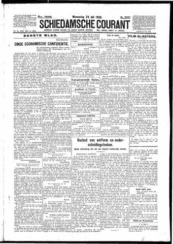 Schiedamsche Courant 1933-07-26