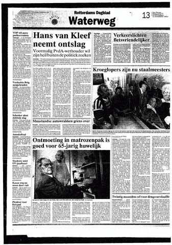 Rotterdamsch Nieuwsblad / Schiedamsche Courant / Rotterdams Dagblad / Waterweg / Algemeen Dagblad 1993-09-15