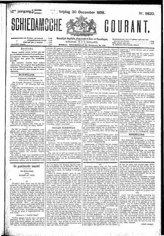 Schiedamsche Courant 1898-12-30