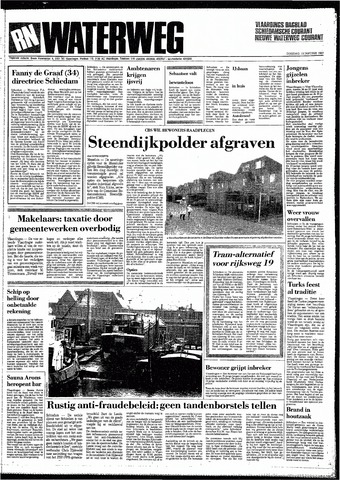 Rotterdamsch Nieuwsblad / Schiedamsche Courant / Rotterdams Dagblad / Waterweg / Algemeen Dagblad 1987-01-13