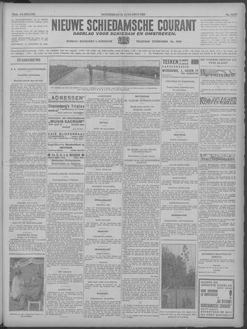 Nieuwe Schiedamsche Courant 1933-08-24