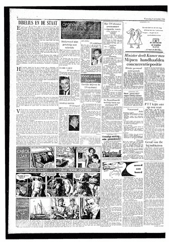 Rotterdamsch Parool / De Schiedammer 1959-11-04