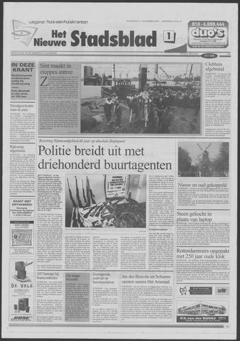Het Nieuwe Stadsblad 2001-11-21