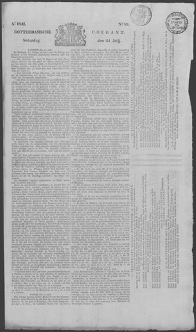 Rotterdamse Courant 1841-07-24