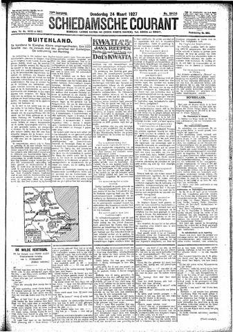 Schiedamsche Courant 1927-03-24