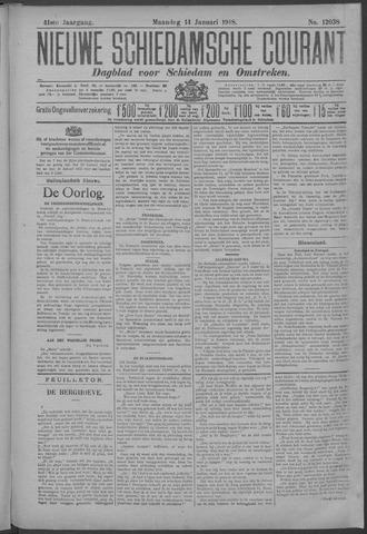Nieuwe Schiedamsche Courant 1918-01-14