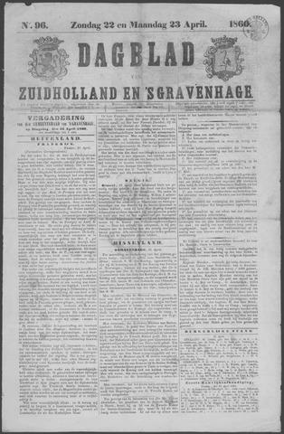Dagblad van Zuid-Holland 1860-04-22