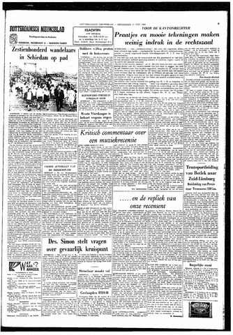 Rotterdamsch Nieuwsblad / Schiedamsche Courant / Rotterdams Dagblad / Waterweg / Algemeen Dagblad 1965-06-17