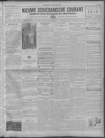 Nieuwe Schiedamsche Courant 1932-02-06