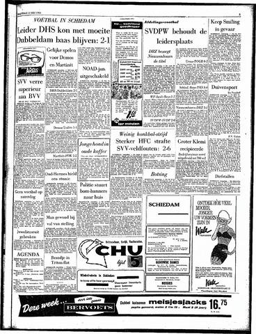 Rotterdamsch Parool / De Schiedammer 1963-05-13
