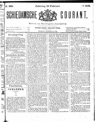 Schiedamsche Courant 1883-02-24