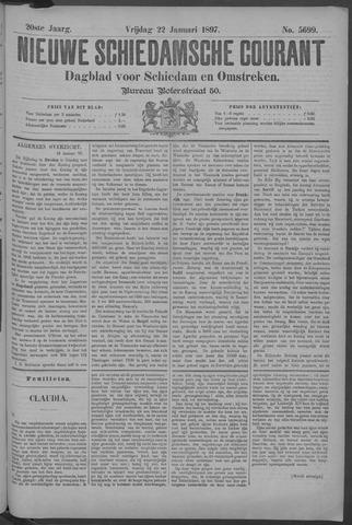 Nieuwe Schiedamsche Courant 1897-01-22