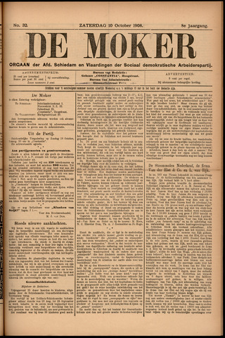 De Moker 1908-10-10