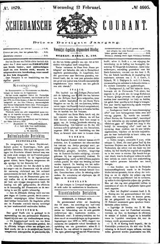 Schiedamsche Courant 1879-02-12