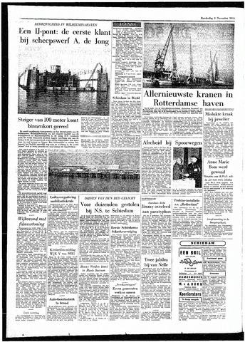 Rotterdamsch Parool / De Schiedammer 1955-11-03