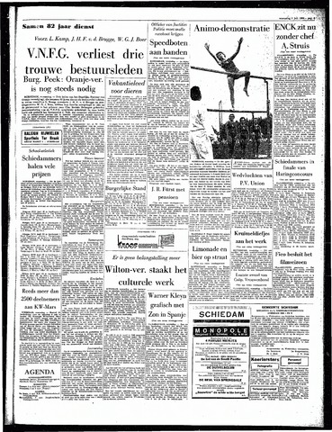 Rotterdamsch Parool / De Schiedammer 1964-07-01
