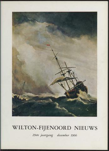 Wilton Fijenoord Nieuws 1966-12-01