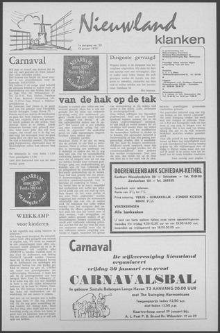 Nieuwland Klanken 1970-01-15